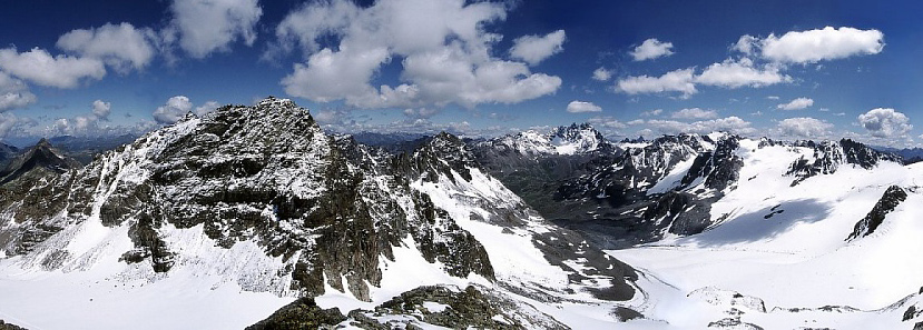 The Alps. Image: M. Klüber, Wikimedia.