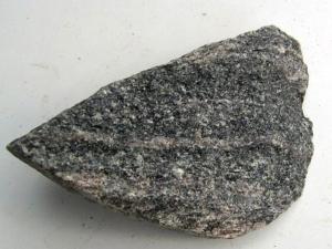 Amphibolite. Image: Geologia.fi.