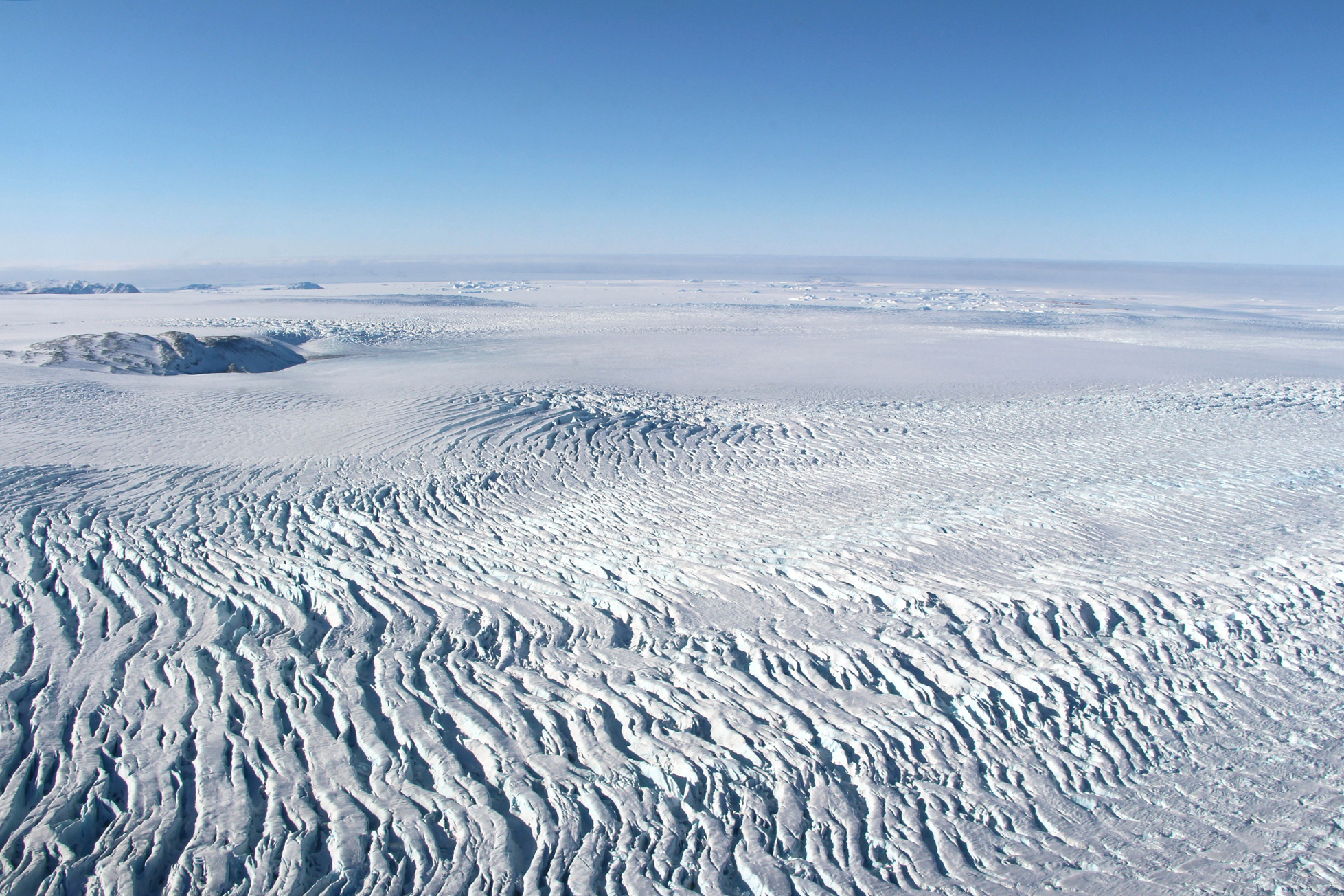 The Scandinavian glacier covered all of Finland. Image: GlacierHub, NASA.