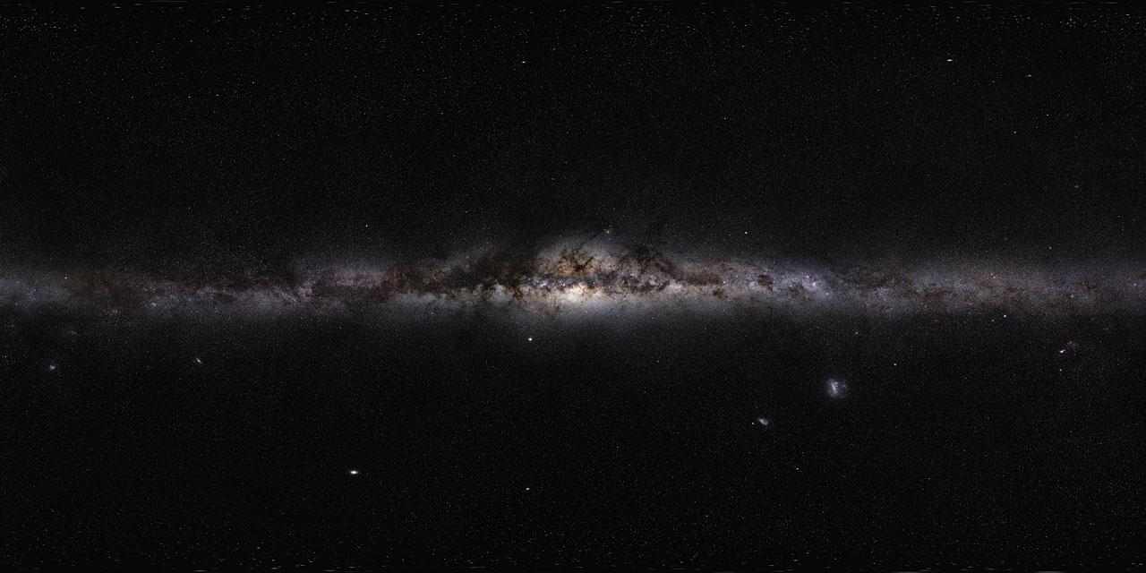 The Milky Way. Image: S. Brunier, ESO.