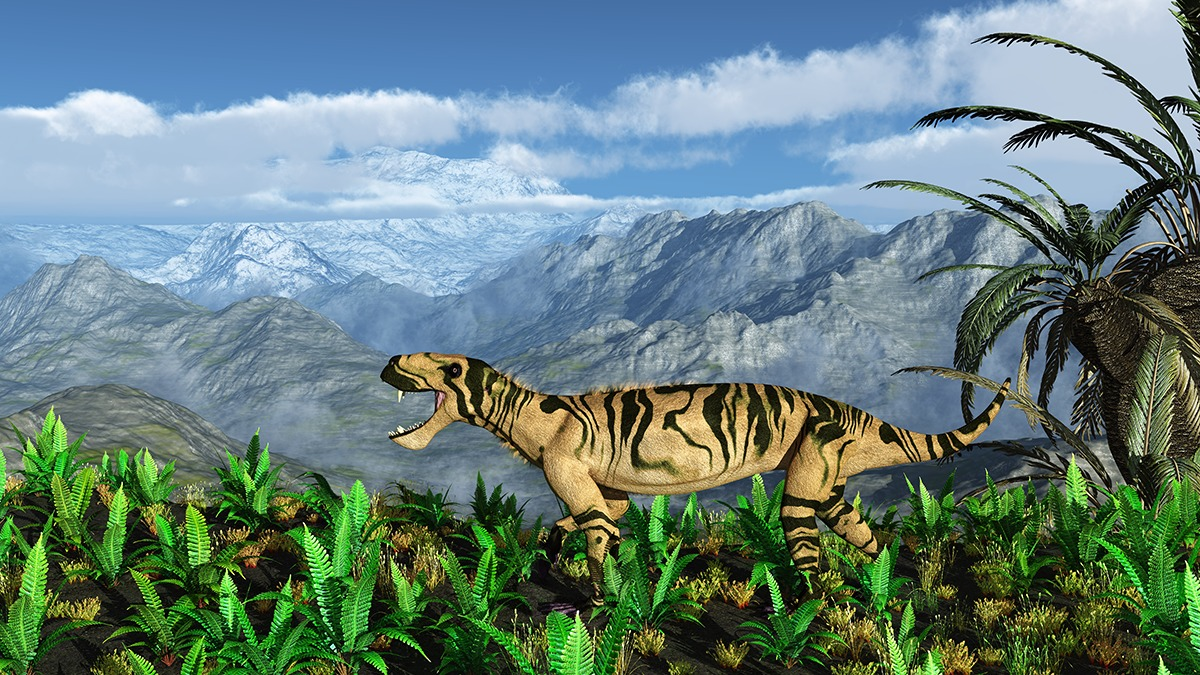 Lycaenops was a predator that belonged to therapsids.  Therapisids was the synapisid subgroup from which the mammals evolved. Image:  Walter Myers.